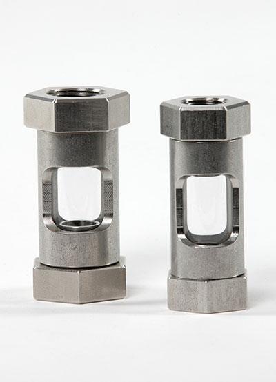 Durchfluss-Schauglas